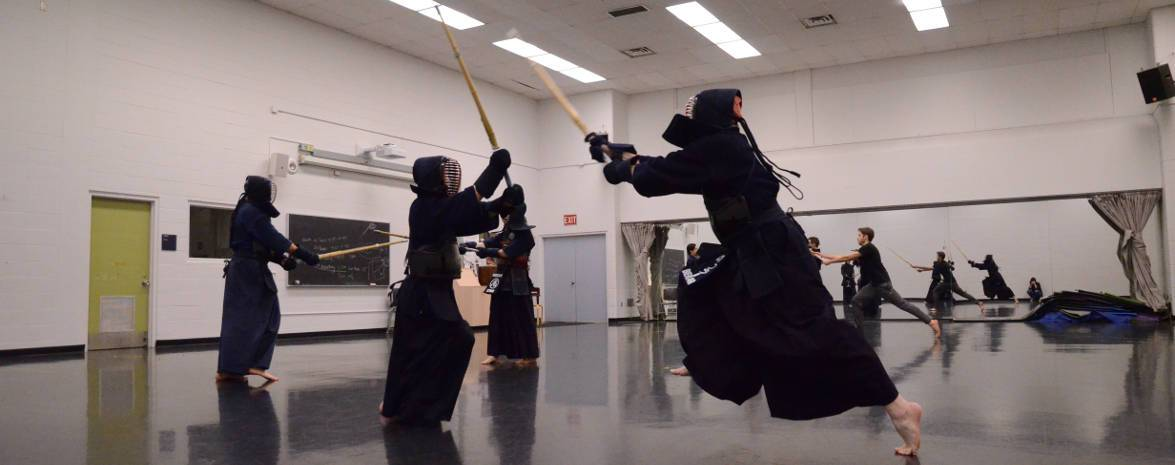 Kendo is action!